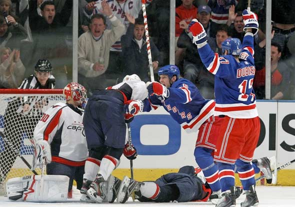 Heartbreak at 4 Penn Plaza as Rangers Shock Caps, 3-2